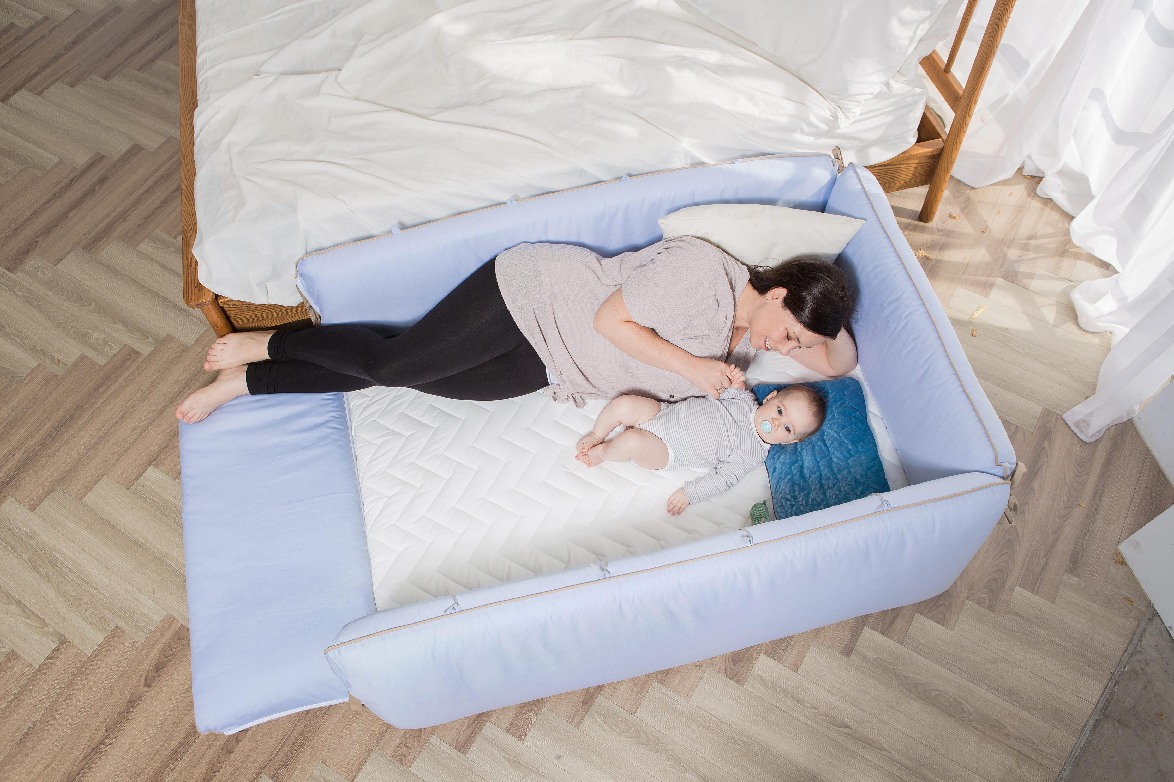 gunite嬰兒床陪睡安全感