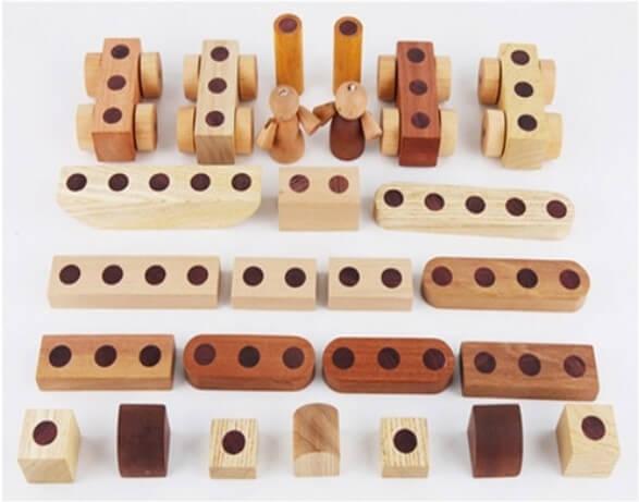 Soopsori原粹木積木-磁性積木組