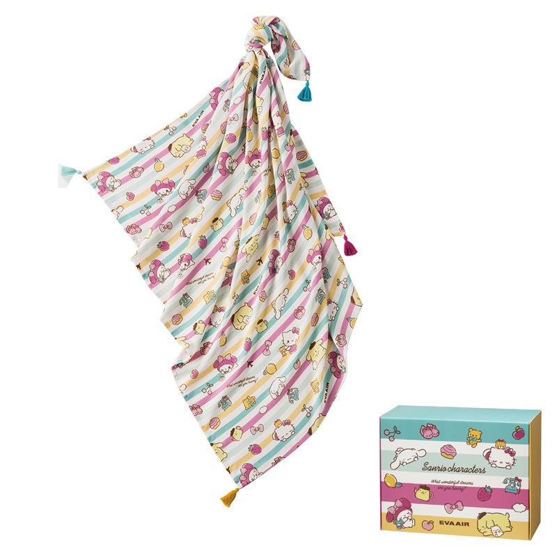長榮航空La Millou三麗鷗明星竹纖涼感巾