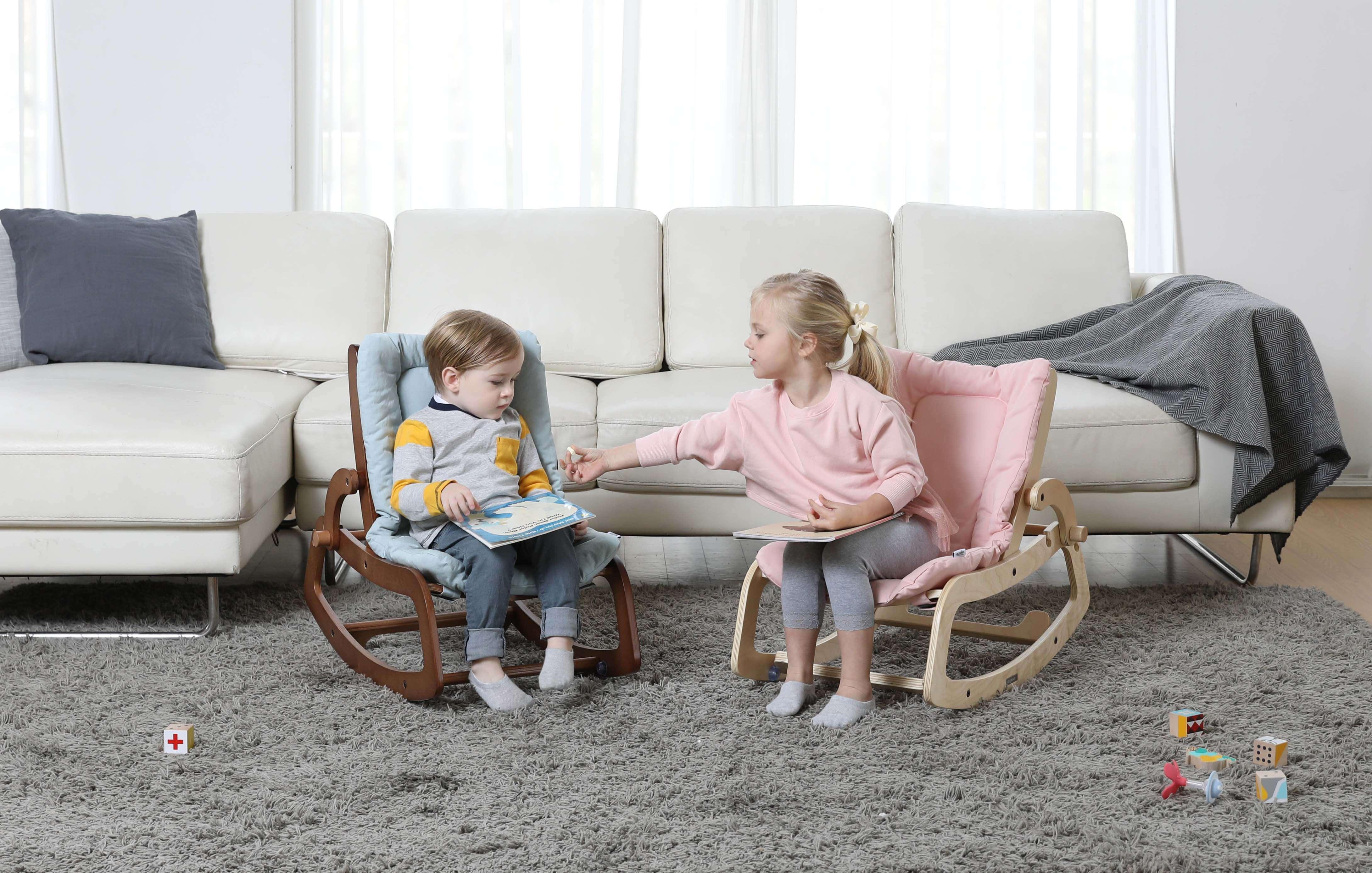 75度兒童椅