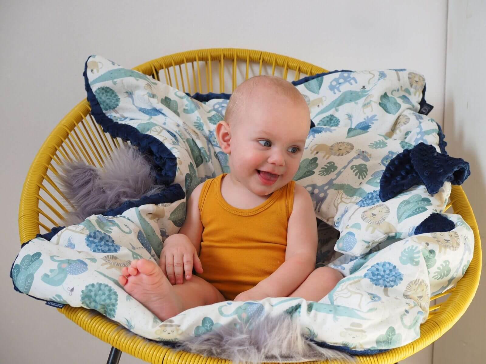 豆豆毯讓寶貝愛不釋手的四大秘密