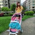 【Miranda媽】2017嬰兒推車比較-荷蘭 Greentom歐系豪華嬰兒手推車 (可帶上飛機)
