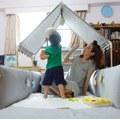 【美花媽】Gunite沙發嬰兒床~北歐風超美型的實用安撫陪睡床♥