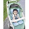 【小雯媽】給寶寶最完整的包覆 air cossi超透氣抗菌天絲坐墊