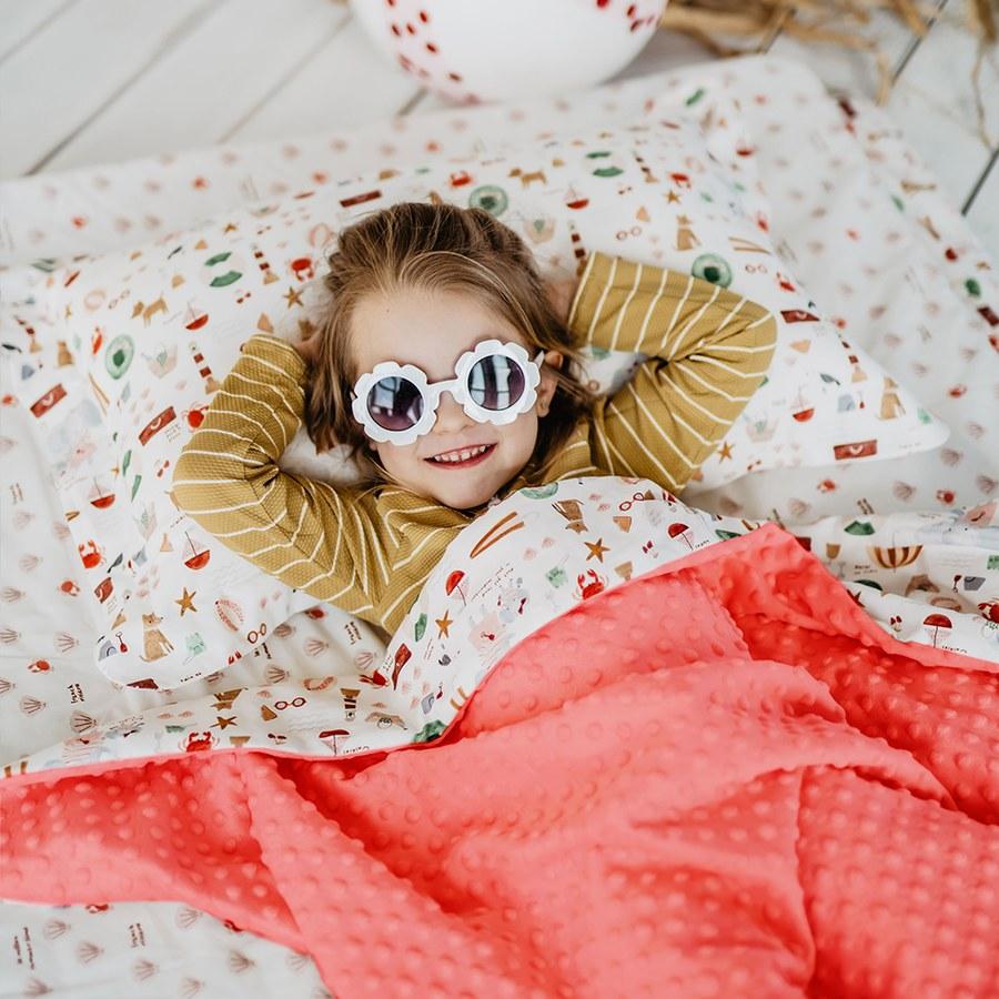 Milo & Gabby 動物好朋友-嬰兒枕頭套(DUKE小鴨)