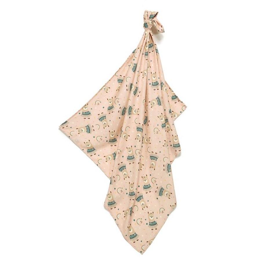 La Millou 包巾-竹纖涼感巾(彩虹草泥馬)