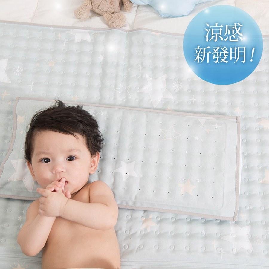 【韓國 lolbaby】Hi Jell-O涼感蒟蒻枕頭_防水隔尿款 (海星星)
