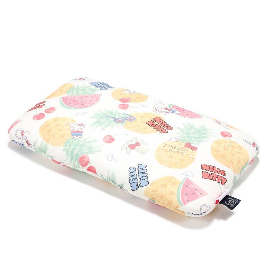 【2020限定聯名款】La Millou 竹纖涼感小童枕加大-30 cm x 50 cm (Hello Kitty夏日蜜果篇)