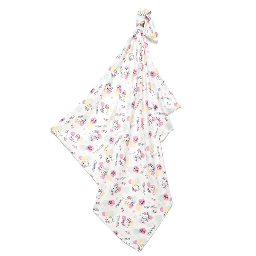 【2020限定聯名款】La Millou 包巾-竹纖涼感巾(Hello Kitty貝殼公主篇)