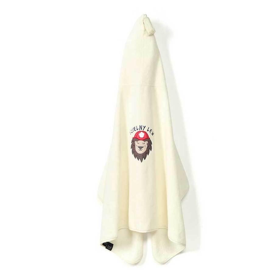 La Millou 時尚篷篷浴巾_加大2Y-8Y- 打火小英雄(雲朵白)