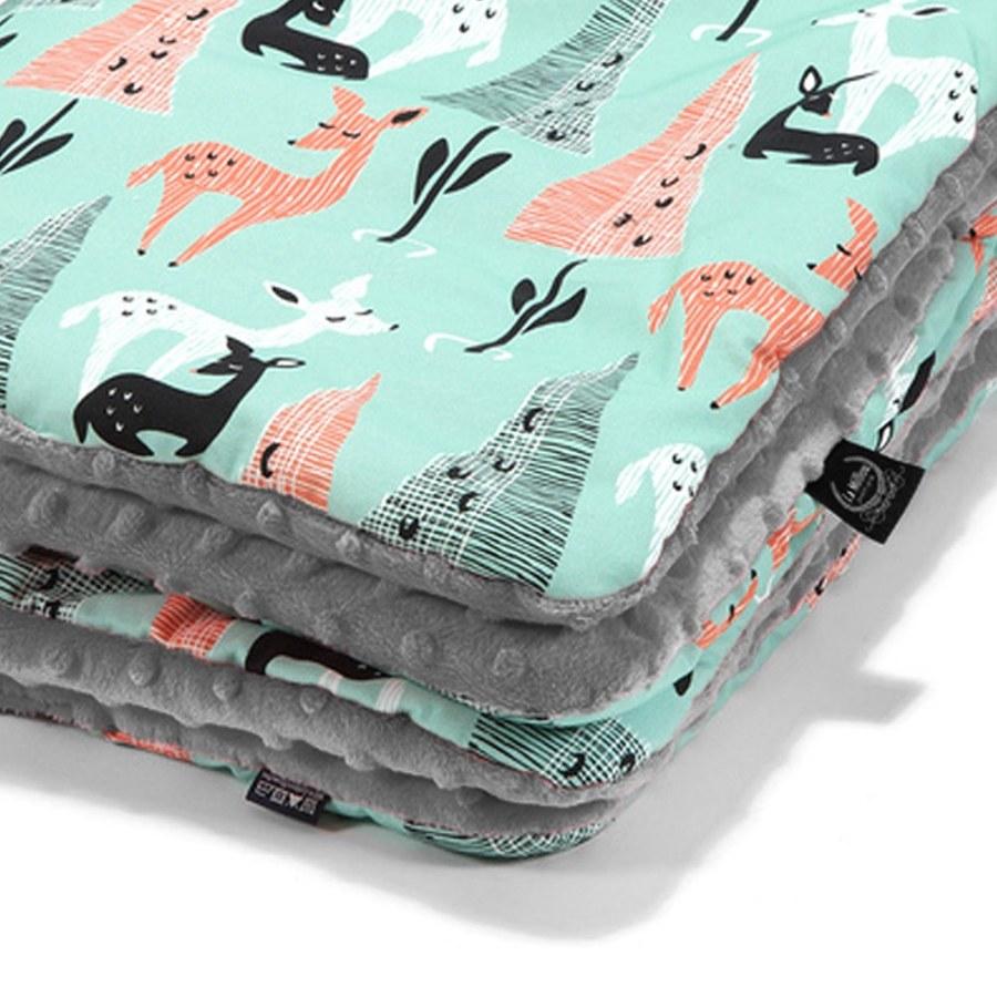 La Millou 暖膚豆豆毯(加大款)-限量款小鹿斑比(銀河星空灰)