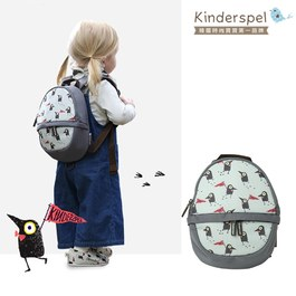 Kinderspel 溜童行頭・蛋型防撞防走失包(黑鳥探險家)