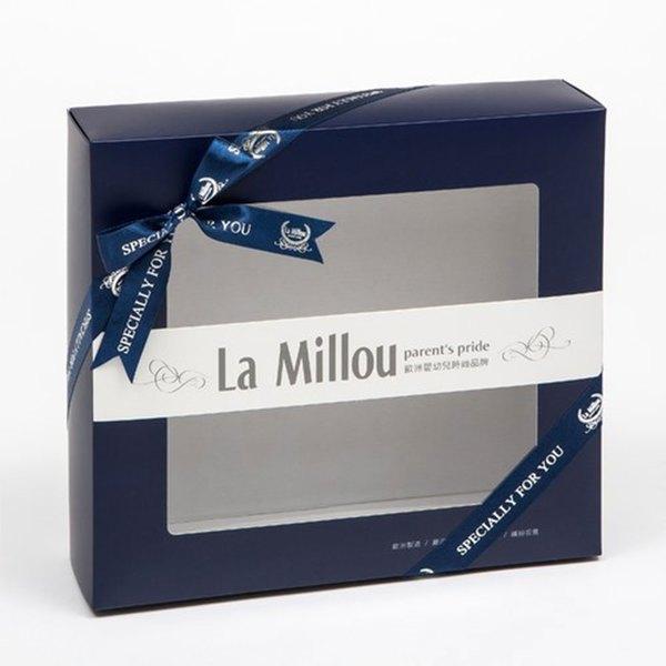 La Millou 澎湃套組(小豬枕+暖膚豆豆毯-加大款+巧柔豆豆毯-標準款)-贈送禮提袋