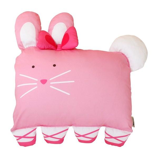 Milo & Gabby 動物好朋友-大枕頭套(芭蕾舞兔兔)