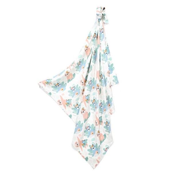 La Millou 包巾-竹纖涼感巾(瑜珈珈樹懶)