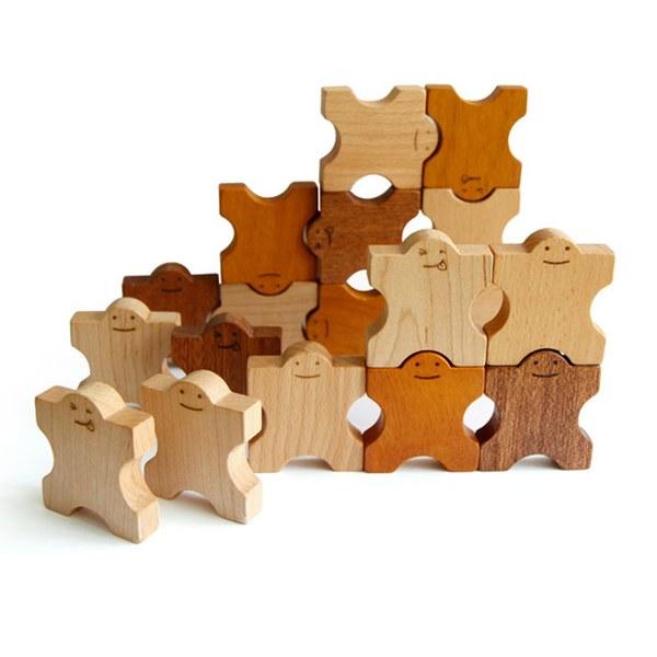 Soopsori全腦開發‧原粹木積木(多米諾骨牌)