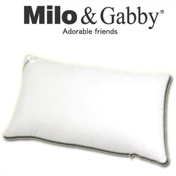 Milo & Gabby 動物好朋友-超細纖維防蹣抗菌mini枕心