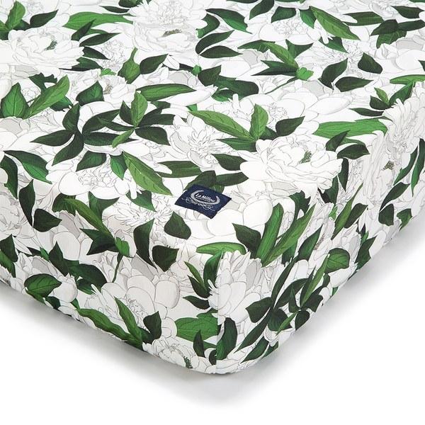 La Millou 拉米洛北歐風_嬰兒床單-格格牡丹花(70cmx140cm)