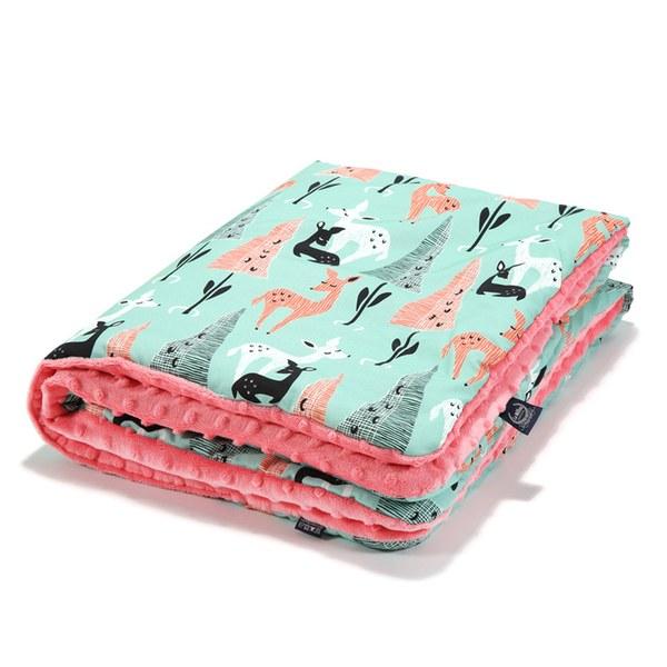 【彌月禮盒】La Millou 暖膚豆豆毯標準款(多款可選)-附送禮提袋