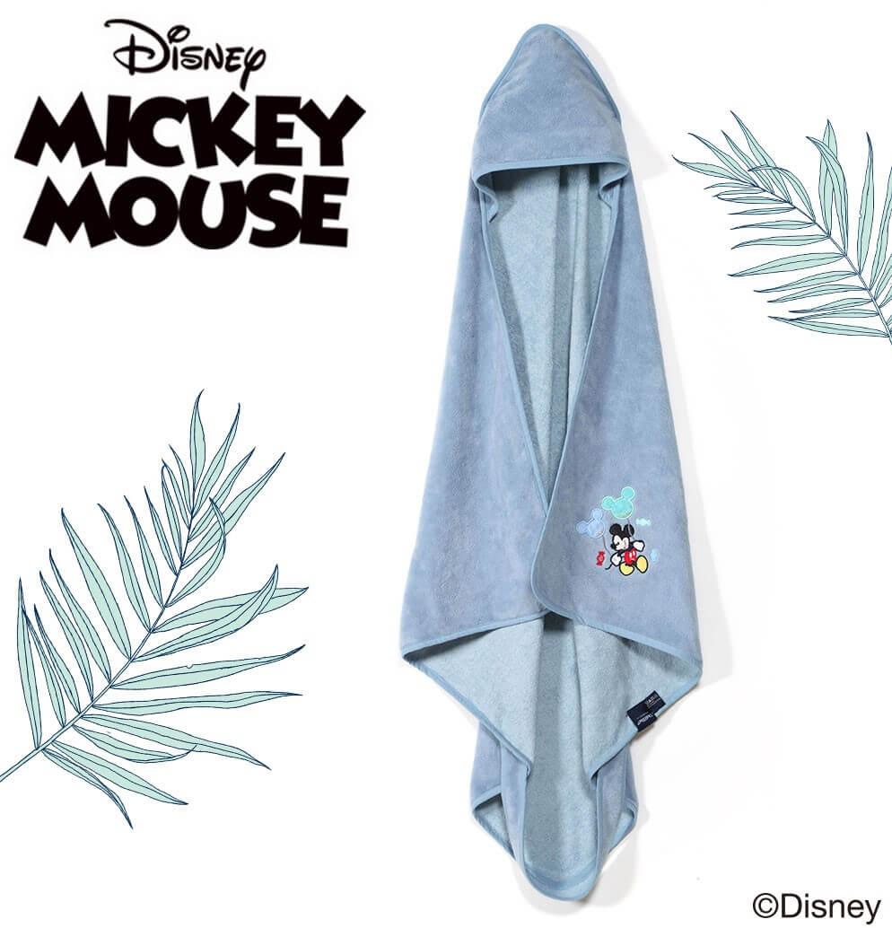 米奇系列時尚篷篷浴巾_標準0-2Y