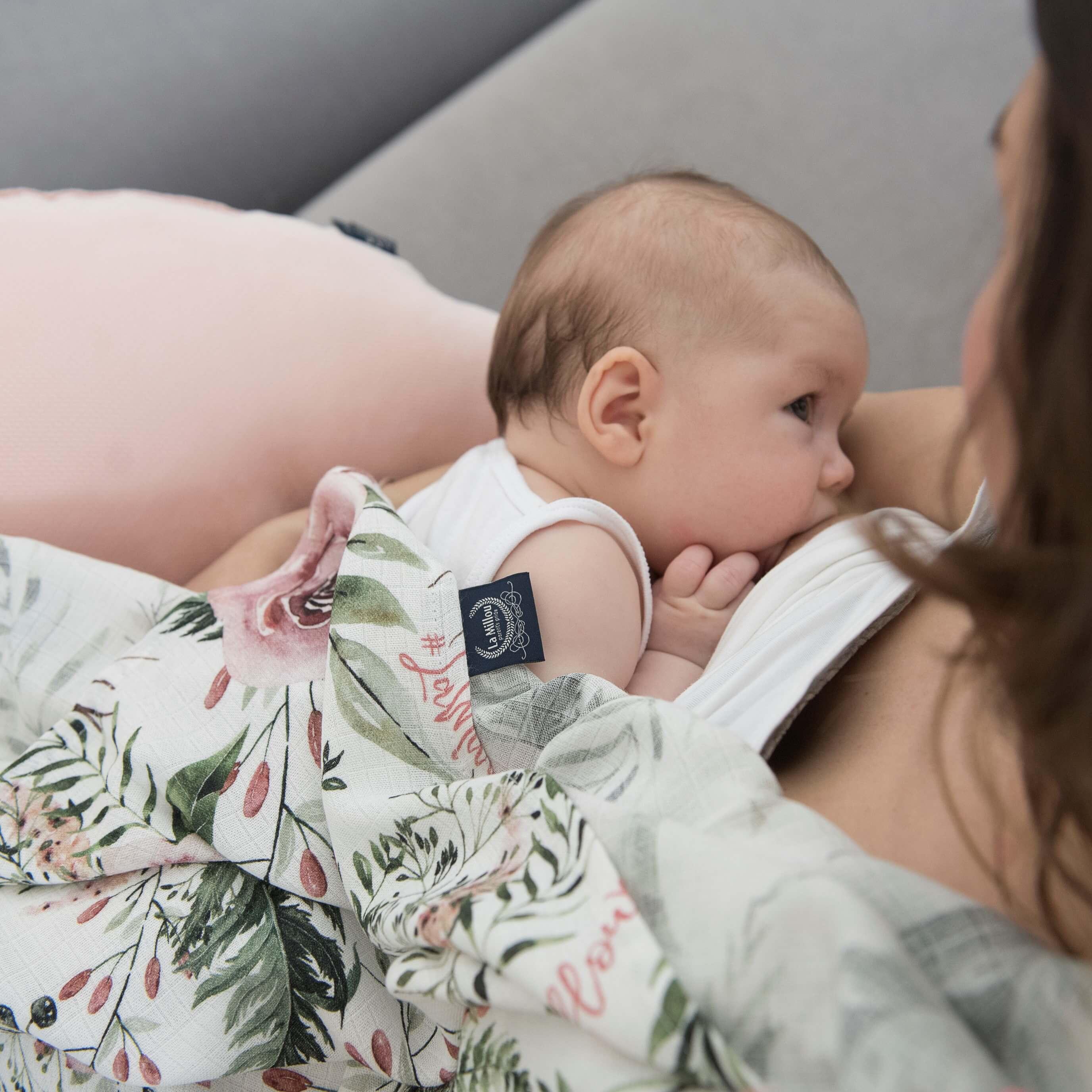 La Millou時尚嬰兒用品新花色伯爵粉茶花