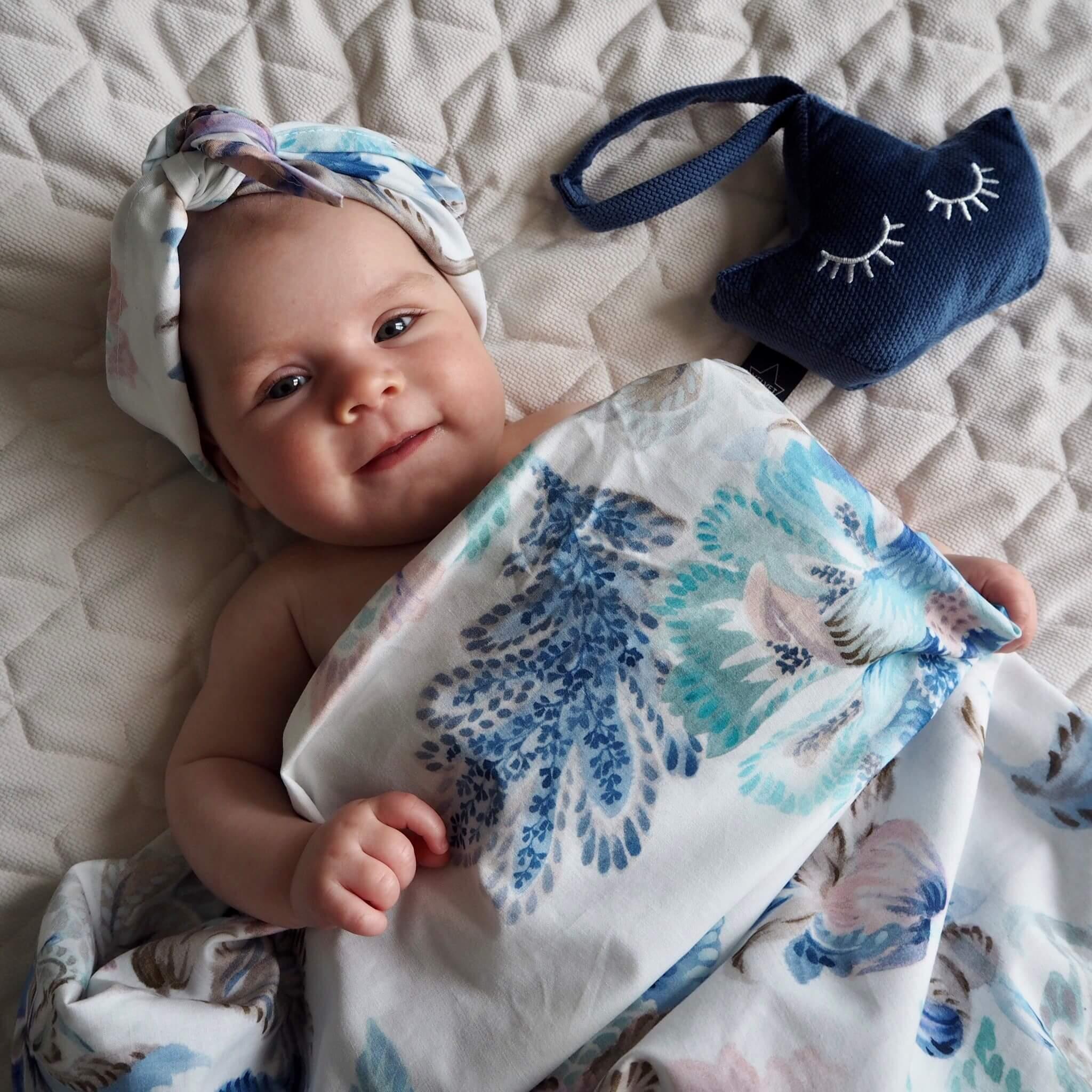 La Millou時尚嬰兒用品新花色希臘紫鳶花